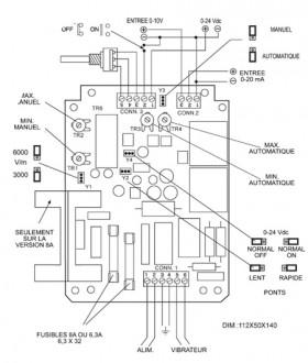 Variateur de fréquence pour vibrateur électromagnétique - Devis sur Techni-Contact.com - 3