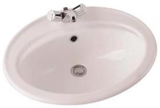 Vasque en céramique à encastrer - Devis sur Techni-Contact.com - 1