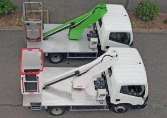 Vehicule avec nacelle elevatrice - Devis sur Techni-Contact.com - 1