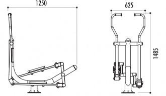 Vélo elliptique acier - Devis sur Techni-Contact.com - 2