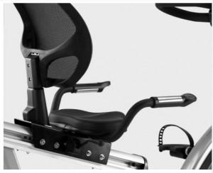 Vélo fixe semi-allongé avec console interactive - Devis sur Techni-Contact.com - 2