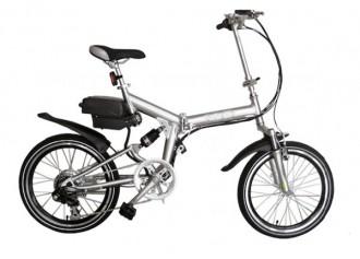 Vélo pliant électrique alu - Devis sur Techni-Contact.com - 1