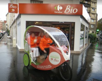 Vélo taxi écologique - Devis sur Techni-Contact.com - 2