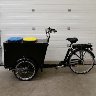 Vélo triporteur collecte des déchets - Devis sur Techni-Contact.com - 4