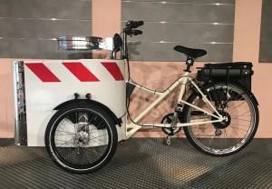 Vélo triporteur de propreté urbaine à assistance électrique - Devis sur Techni-Contact.com - 1