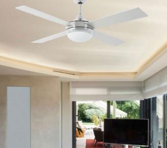 Ventilateur de plafond lumineux - Devis sur Techni-Contact.com - 1