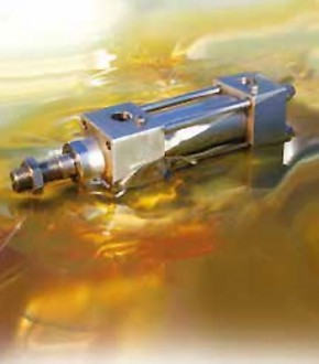 Vérin hydraulique inox huile et eau - Devis sur Techni-Contact.com - 1