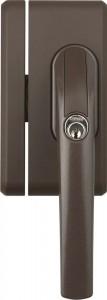 Verrou à clé pour fenêtre Broche de 30 à 37 mm - Devis sur Techni-Contact.com - 1