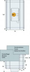 Verrou fenêtre automatique 4 goupilles - Devis sur Techni-Contact.com - 3