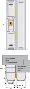 Verrou fenêtre automatique pour porte et fenêtre - Devis sur Techni-Contact.com - 4
