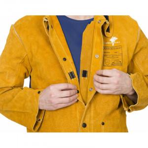 Veste de soudeur Golden Brown Weldas - Devis sur Techni-Contact.com - 3