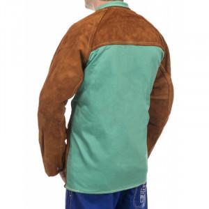 Veste de soudeuse coupe femme Lava Brown Weldas - Devis sur Techni-Contact.com - 2