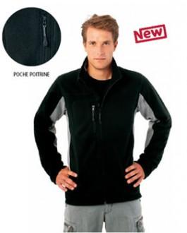 Veste homme personnalisable zippée - Devis sur Techni-Contact.com - 1