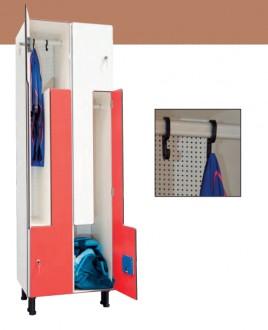 Vestiaire forme L hauteur 1800 mm - Devis sur Techni-Contact.com - 3