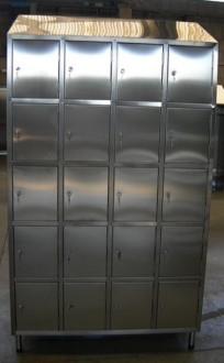 Vestiaire multicases 20 portes inox - Devis sur Techni-Contact.com - 2