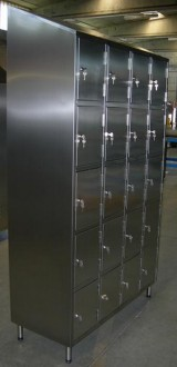 Vestiaire multicases 20 portes inox - Devis sur Techni-Contact.com - 3