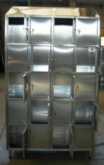 Vestiaire multicases 20 portes inox - Devis sur Techni-Contact.com - 4
