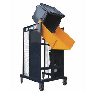 Videur retourneur de poubelle chantier 400 litres VDC130° - Devis sur Techni-Contact.com - 1