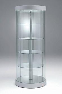 Vitrine commerce basse cylindrique - Devis sur Techni-Contact.com - 1