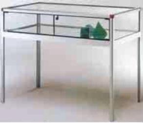Vitrine comptoir aluminium - Devis sur Techni-Contact.com - 1