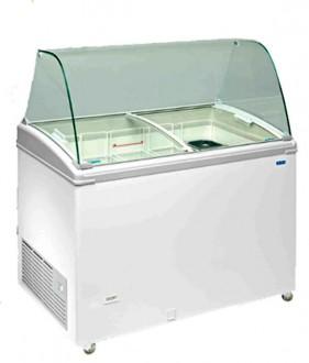 Vitrine conservateur à crèmes glacées 300 - 500 litres - Devis sur Techni-Contact.com - 1