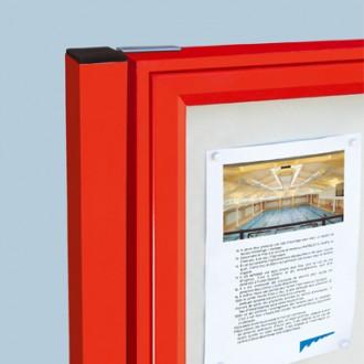 Vitrine d'affichage extérieur simple face aluminium - Devis sur Techni-Contact.com - 3