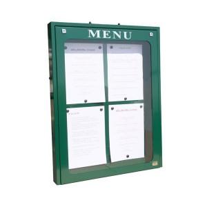 Vitrine d'affichage menu pour extérieur - Devis sur Techni-Contact.com - 2