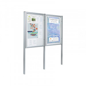 Vitrine d'affichage simple face alu - Devis sur Techni-Contact.com - 2