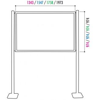 Vitrine d'affichage sur poteau - Devis sur Techni-Contact.com - 2