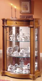 Vitrine d'exposition armoire en bois - Devis sur Techni-Contact.com - 1