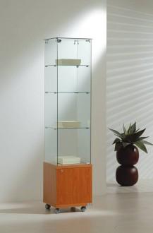 Vitrine d'exposition classique étroite Largeur 40 cm - Devis sur Techni-Contact.com - 1