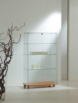 Vitrine d'exposition classique verre largeur 80 cm - Devis sur Techni-Contact.com - 1