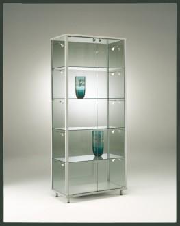 Vitrine d'exposition classique verre trempé - Devis sur Techni-Contact.com - 1