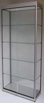 Vitrine d'exposition en verre et aluminium naturel - Devis sur Techni-Contact.com - 3