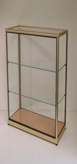 Vitrine d'exposition en verre et aluminium naturel - Devis sur Techni-Contact.com - 4