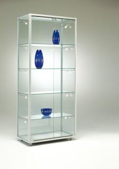Vitrine d'exposition en verre Hauteur 183.5 cm - Devis sur Techni-Contact.com - 1
