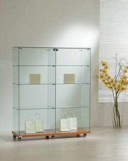 Vitrine d'exposition en verre large - Devis sur Techni-Contact.com - 1