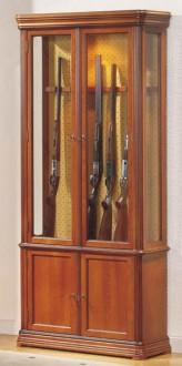 Vitrine d'exposition fusils en bois - Devis sur Techni-Contact.com - 1