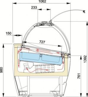 Vitrine d'exposition sorbet - Devis sur Techni-Contact.com - 2