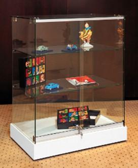 Vitrine d'exposition sur roulettes pour objets d'art - Devis sur Techni-Contact.com - 1