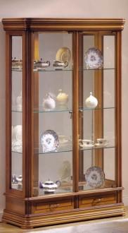 Vitrine d'exposition tiroirs en bois - Devis sur Techni-Contact.com - 1