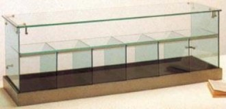 Vitrine de comptoir en verre - Devis sur Techni-Contact.com - 1