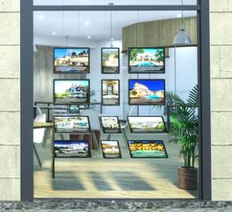 Vitrine immobilière - Devis sur Techni-Contact.com - 1