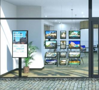 Vitrine immobilière - Devis sur Techni-Contact.com - 2