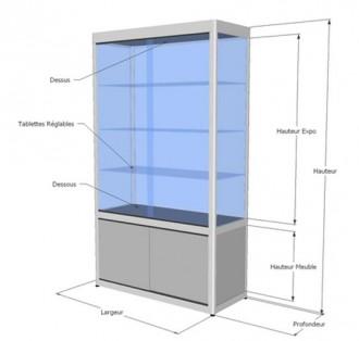Vitrine meuble d'exposition - Devis sur Techni-Contact.com - 3