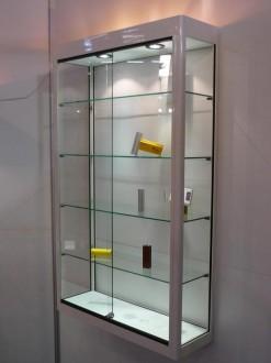 Vitrine murale d'exposition en verre aluminium - Devis sur Techni-Contact.com - 2