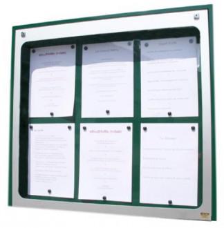 Vitrine porte menu murale aluminium - Devis sur Techni-Contact.com - 3