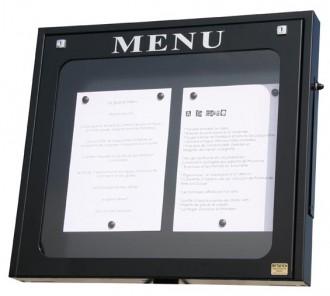 Vitrine porte menu pour extérieur - Devis sur Techni-Contact.com - 1