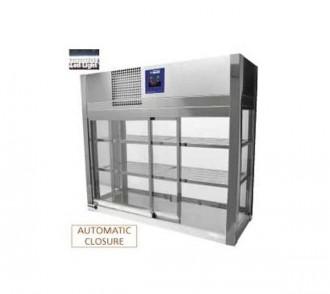 Vitrine réfrigérée à 4 faces vitrées - Devis sur Techni-Contact.com - 1