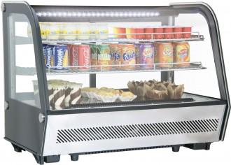 Vitrine réfrigérée à poser 160 L - Devis sur Techni-Contact.com - 1